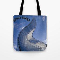 The shard London Bend Tote Bag