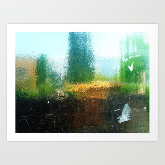 Urban Abstract 38 Art Print
