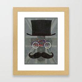 Bicycle Head Framed Art Print