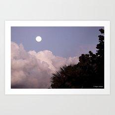 Rising Moon Art Print