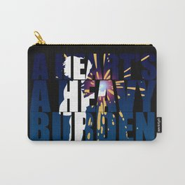 A heart is a heavy burden Carry-All Pouch