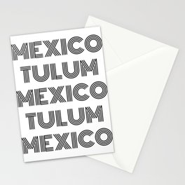 Mexico - Tulum - Favorite City - Beach Area - National Geography Stationery Cards
