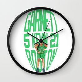 Garnett #5 BostonLight color Wall Clock