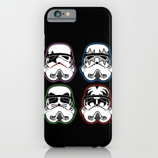 Kiss Troopers iPhone & iPod Case
