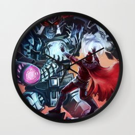 Magneto vs Megatron Wall Clock