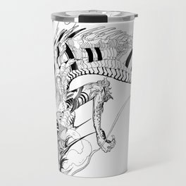 Falling dragon Travel Mug