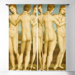 Raphael - Three Graces Blackout Curtain