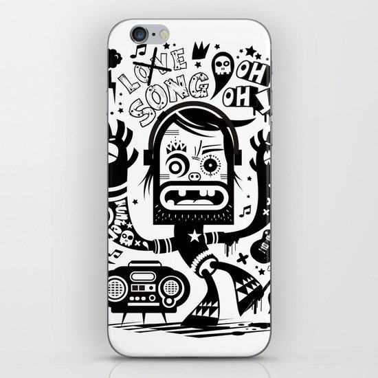 This is not a love song iPhone & iPod Skin
