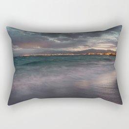 Night seascape Rectangular Pillow