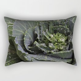 Green Bliss (3rd in Cabbage collection) Rectangular Pillow