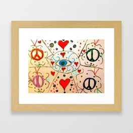 The Eye of Art Framed Art Print