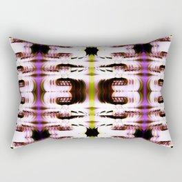 Digital White Plume Rectangular Pillow