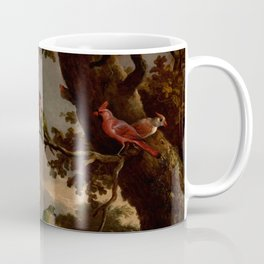 "Melchior d'Hondecoeter ""The Menagerie"" Coffee Mug"