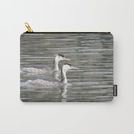 Double Grebe Carry-All Pouch