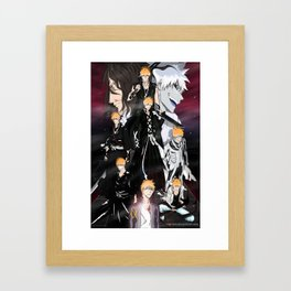 Ichigo Evolution Framed Art Print
