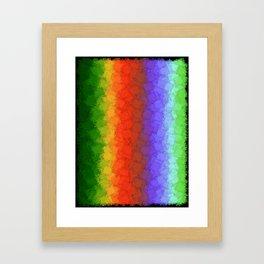 Stitch Your Stress Away Framed Art Print