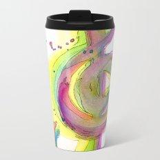 (t)Reble Clef Metal Travel Mug