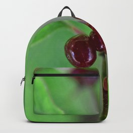 Red berrys 2 Backpack