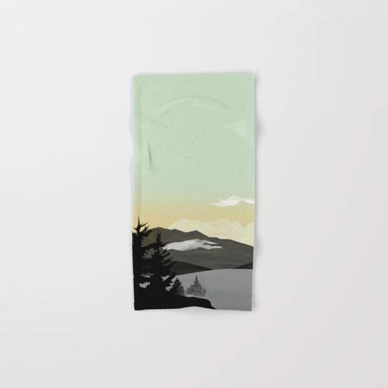 Misty Mountain II Hand & Bath Towel
