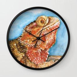 Jiggy the Bearded Dragon Wall Clock