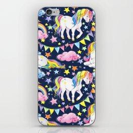 Unicorns, Rainbows & Stars iPhone Skin