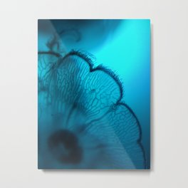 Moonjelly In The Blue... Metal Print