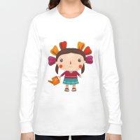 lolita Long Sleeve T-shirts featuring Lolita by Gabriela Granados