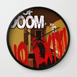 Goldfish of Doom - No Exit Wall Clock