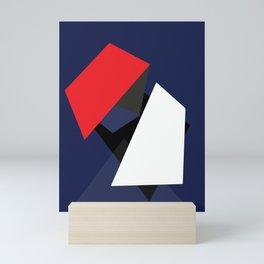 geometric art 03 Mini Art Print