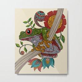 Phileus Frog Metal Print