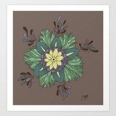 Sea Blossom Art Print