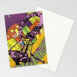 Old San Juan at Night Stationery Cards