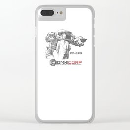 OMNICORP Clear iPhone Case