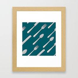 Cutlery Framed Art Print