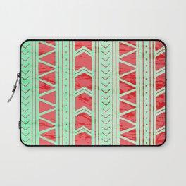 Watermelon Geometric Pattern Laptop Sleeve