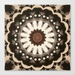 Ouija Wheel of Stars - Beyond the Veil Canvas Print