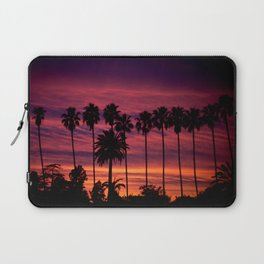 Sunset over Hollywood Laptop Sleeve