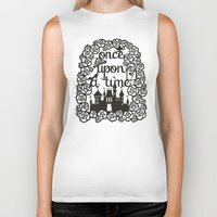 once upon a  time Biker Tanks featuring Once upon a time  by eileenlim