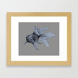 whatcha doin? Framed Art Print