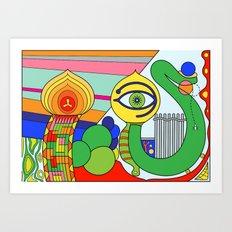 somedays i look (Joe Pansa/Freshinkstain) Art Print