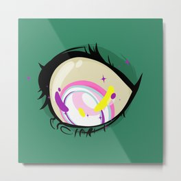 Zombi Eye Metal Print