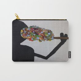 Puffing Colors Carry-All Pouch