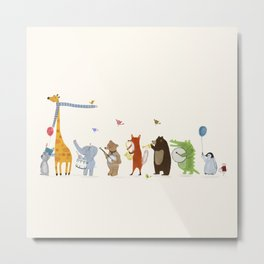 little parade Metal Print
