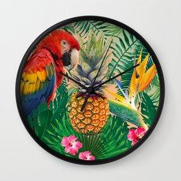 tropicfun Wall Clock