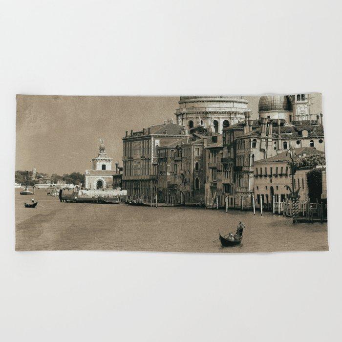 One day in Venice II Beach Towel