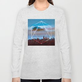 The Elements Geometric Nature Element of Air Long Sleeve T-shirt