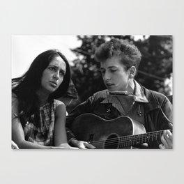 Bob Dylan Vintage Canvas Print