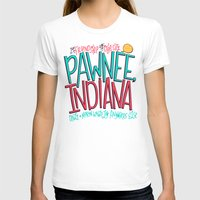indiana T-shirts featuring Pawnee, Indiana by Chelsea Herrick
