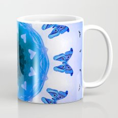 All things with wings (blue) Mug