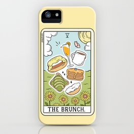 Brunch Reading iPhone Case